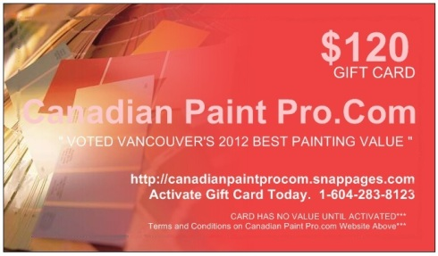 $120.00 Gift Card Give Away Thank you Vancouver !!