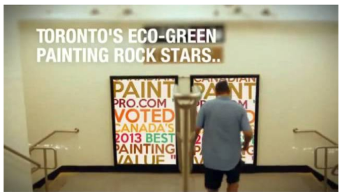 Toronto's Eco-Green Painting Rock Stars